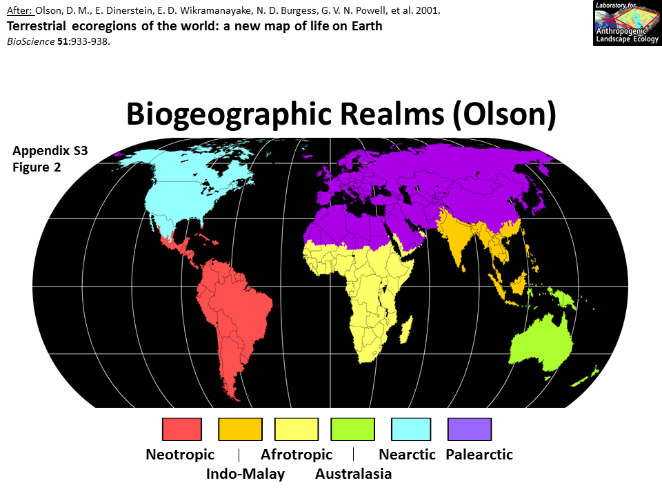 Realms of earth